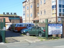 RESIDENTIAL REDEVELOPMENT OPPORTUNITY, COLIN HICK MOTORS, BOOTHAM, YORK.