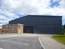 WORKSHOP/WAREHOUSING COMPLEX, THE AIRFIELD, THOLTHORPE, YORK.